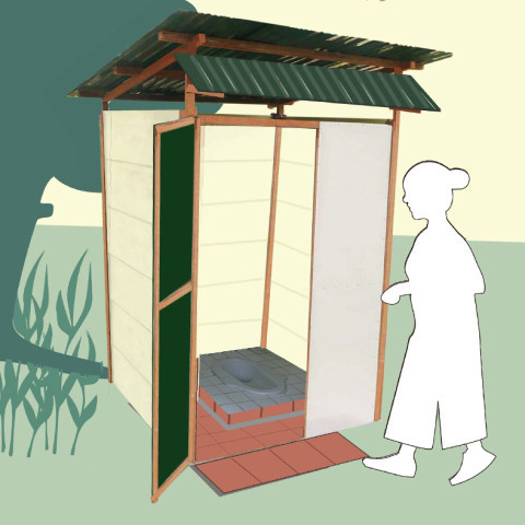 SmartShed toilet shelter
